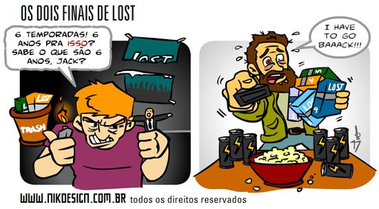 Final dos fãs de Lost
