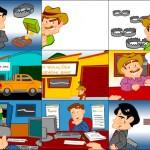Criação de animação para apresentação em evento - Cliente: BASF, parceria Estação Gráfica