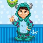 Criação de Caricatura para Aniversário Infantil
