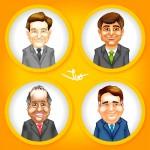 Criação de Caricaturas de Candidatos ao Governo de RJ