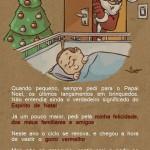 Criação de ilustração para cartão de Natal NIK design