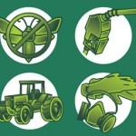 Criação de ícones para apresentação - Cliente: Monsanto, parceria Estação Gráfica