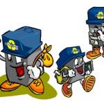 Criação de mascote Tucho - Cliente: Multilaser